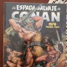 Cómics: ESPADA SALVAJE DE CONAN OMNIBUS VOLUMEN 4. Lote 228310800