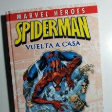 """Cómics: SPIDERMAN. VUELTA A CASA. (1º VOL. DE """"MARVEL HEROES""""). Lote 228339318"""