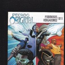 Comics: PODEROSOS VENGADORES - Nº 11 011 - PECADO ORIGINAL 3 - PANINI -. Lote 228755395