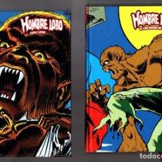 Cómics: HOMBRE LOBO 1 2 3 COMPLETA - PANINI / MARVEL LIMITED EDITION / TAPA DURA / NUEVOS Y PRECINTADOS. Lote 274619478