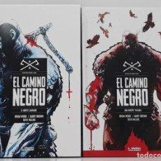 Cómics: EL CAMINO NEGRO, 2 VOLÚMENES, COMPLETO (EVOLUTION CÓMICS, 2018, PANINI). Lote 229585865