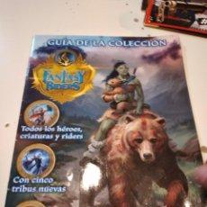 Cómics: G-59 GUIA DE LA COLECCION FANTASY RIDERS PANINI. Lote 229921395