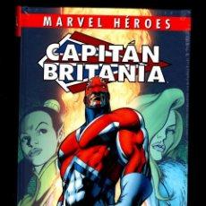 Cómics: CAPITAN BRITANIA - PANINI / MARVEL HEROES 92 / ALAN MOORE & ALAN DAVIS / NUEVO Y PRECINTADO. Lote 231031670