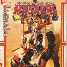 Cómics: CÓMIC MARVEL - MASACRE - Nº 9 - ED. PANINI ( CUADERNO PRESTIGIO ). Lote 231248215