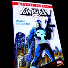 Comics: CASI EXCELENTE ESTADO MARVEL HEROES 30 THE PUNISHER DIARIO DE GUERRA COMICS PANINI. Lote 231291840