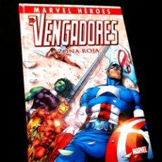 Fumetti: CASI EXCELENTE ESTADO MARVEL HEROES 7 LOS VENGADORES ZONA ROJA COMICS PANINI. Lote 231320940