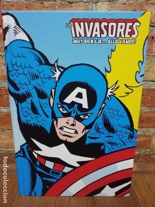 LOS INVASORES 1 ¡MUY BIEN EJE... ALLA VAMOS! MARVEL LIMITED EDITION (Tebeos y Comics - Panini - Marvel Comic)