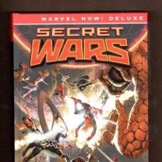 Cómics: SECRET WARS - PANINI / MARVEL NOW! DELUXE / EDICIÓN INTEGRAL / TAPA DURA. Lote 229589615