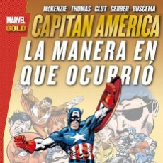 Cómics: CAPITAN AMERICA : LA MANERA EN QUE OCURRIÓ - PANINI / MARVEL GOLD / RUSTICA. Lote 231895040