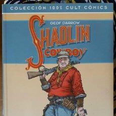 Cómics: GEOF DARROW . SHAOLIN COWBOY 1. LA VENGANZA DEL REY CANGREJO Y MR. EXCELENTE. Lote 231980745