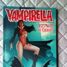 Comics : VAMPIRELLA - ASESINATO DE CUERVOS - PANINI. Lote 232489160