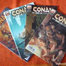 Cómics: CONAN EL BARBARO NºS 1, 2, 3 Y 4 ( JASON AARON ) ¡MUY BUEN ESTADO! PANINI MARVEL. Lote 232922890