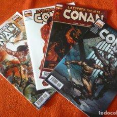 Cómics: LA ESPADA SALVAJE DE CONAN NºS 1, 2, 3 Y 4 ( DUGGAN GARNEY ) ¡MUY BUEN ESTADO! PANINI MARVEL. Lote 232923050