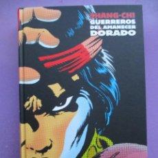 Cómics: SHANG CHI 4, MARVEL LIMITED EDITION GUERREROS DEL AMANECER DORADO, ¡¡¡¡NUEVO SIN LEER!!! PANINI. Lote 233108265