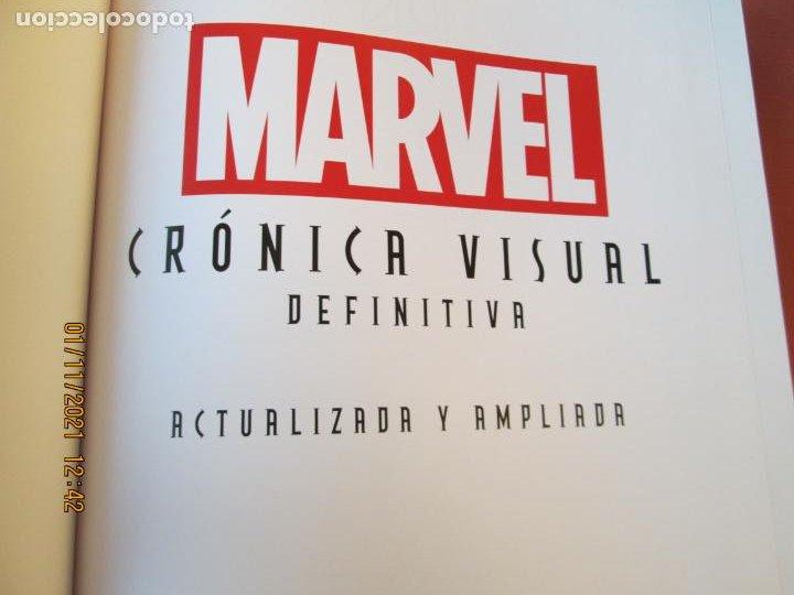 Cómics: MARVEL CRONICA VISUAL DEFINITIVA - VERSIÓN ACTUALIZADA Y AMPLIADA CON CAJA 2013- STAN LEE . JOE QUES - Foto 4 - 234408880