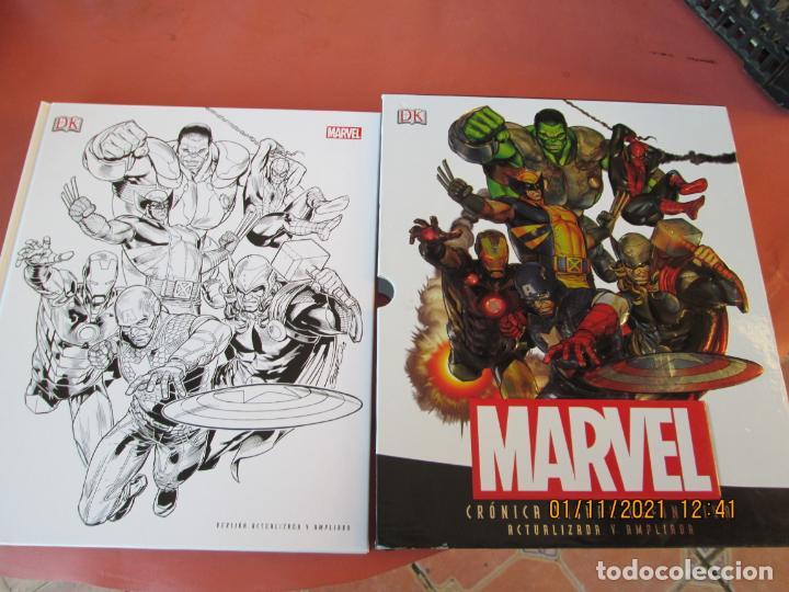 MARVEL CRONICA VISUAL DEFINITIVA - VERSIÓN ACTUALIZADA Y AMPLIADA CON CAJA 2013- STAN LEE . JOE QUES (Tebeos y Comics - Panini - Marvel Comic)