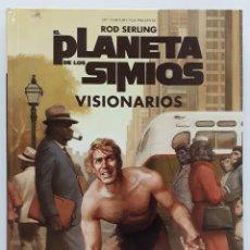Cómics: PLANETA DE LOS SIMIOS, VISIONARIOS, ROD SERLING. Lote 234410165