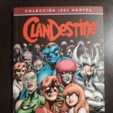 Comics: CLANDESTINE - EL REGRESO. 100% MARVEL. Lote 234776710