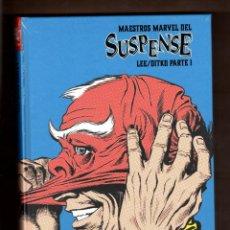 Comics: MAESTROS DEL SUSPENSE 1 STAN LEE & STEVE DITKO - PANINI / MARVEL LIMITED EDITION /NUEVO Y PRECINTADO. Lote 257490690