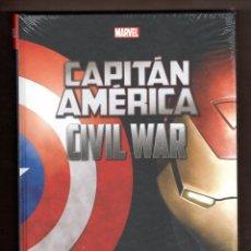 Cómics: CAPITAN AMERICA : CIVIL WAR - PANINI / MARVEL INTEGRAL / NUEVO Y PRECINTADO. Lote 268998584