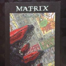 Cómics: MATRIX CÓMICS VOLUMEN 1 PÍLDORA ROJA PÍLDORA AZUL ( 2008 ). Lote 235253365