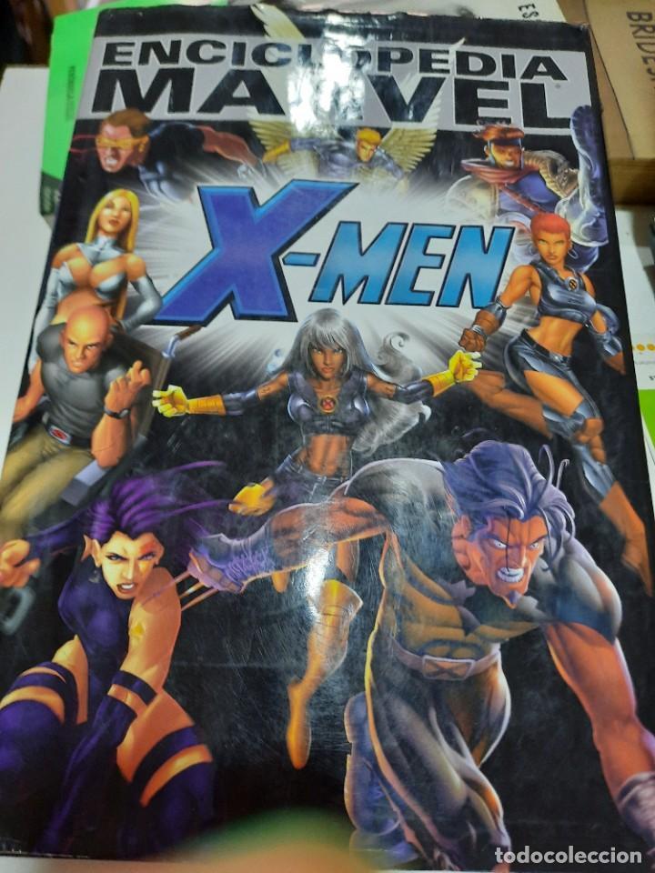 ENCICLOPEDIA MARVEL X-MEN (Tebeos y Comics - Panini - Marvel Comic)