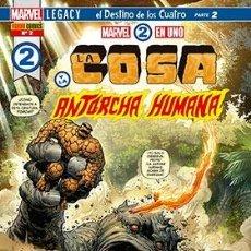 Cómics: MARVEL 2 EN 1. LA COSA Y LA ANTORCHA HUMANA 2. Lote 235813725