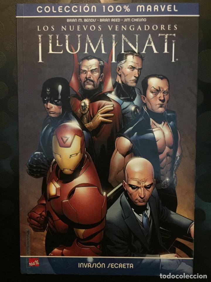 LOS NUEVOS VENGADORES ILLUMINATI : INVASIÓN SECRETA COLECCIÓN 100% MARVEL ( 2008 ) (Tebeos y Comics - Panini - Marvel Comic)