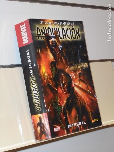 COLECCION EXTRA SUPERHEROES ANIQUILACION INTEGRAL MARVEL - PANINI (Tebeos y Comics - Panini - Marvel Comic)