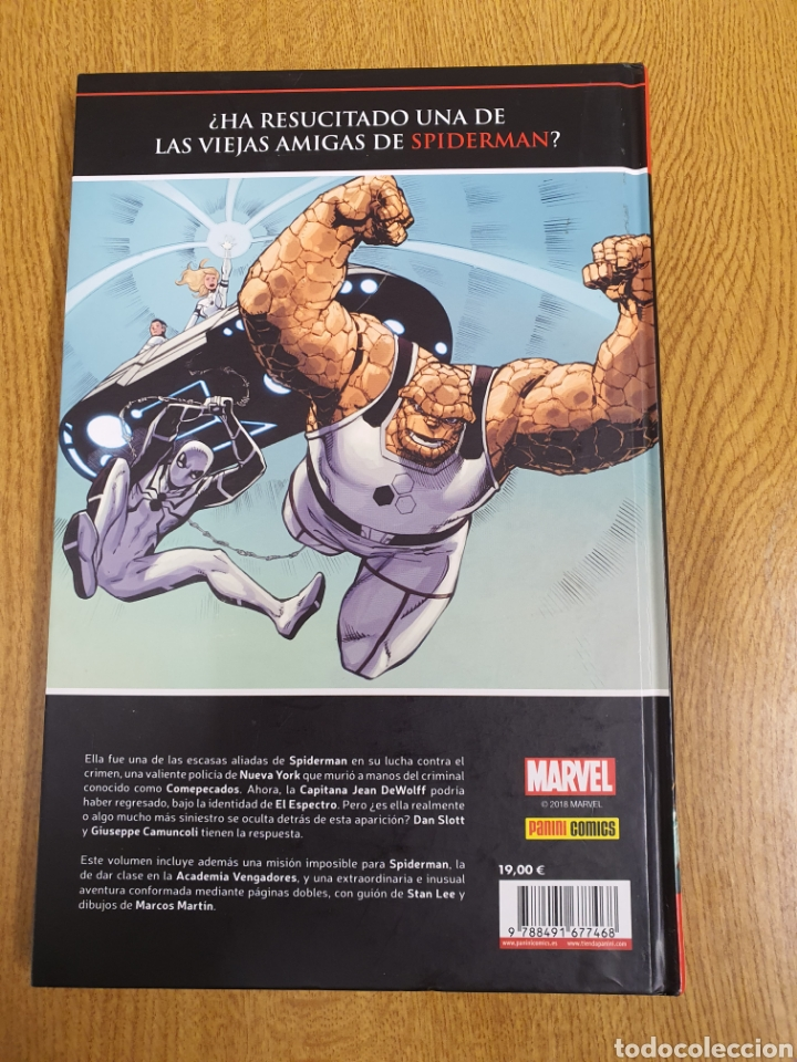 Cómics: Marvel saga nº 33 , El asombroso Spiderman , El fantasma de Jean Wolff - Foto 2 - 236336185