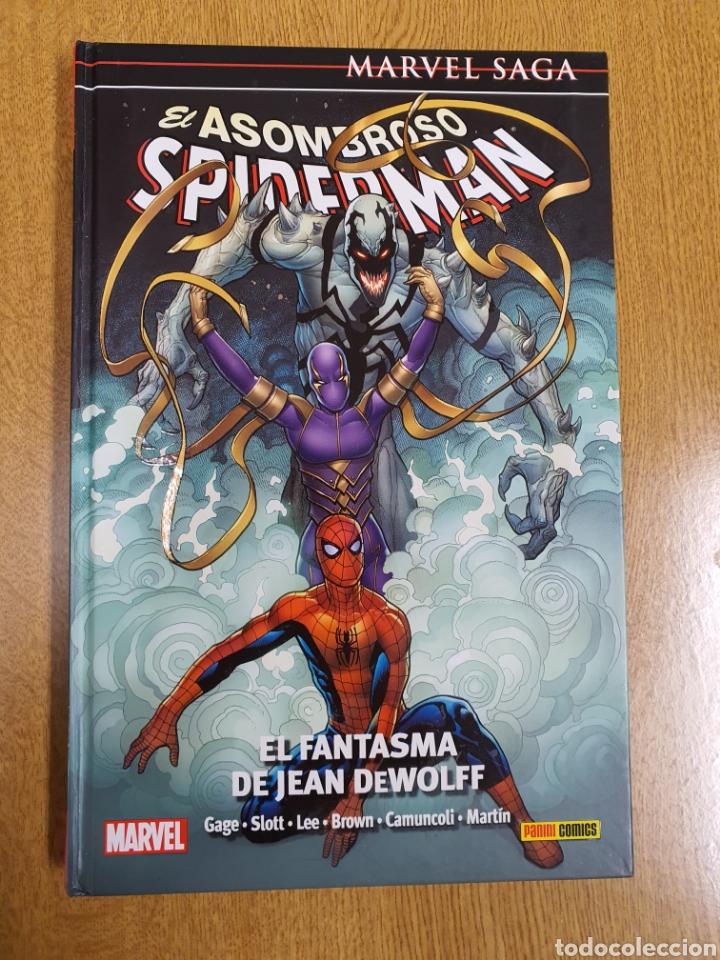 MARVEL SAGA Nº 33 , EL ASOMBROSO SPIDERMAN , EL FANTASMA DE JEAN WOLFF (Tebeos y Comics - Panini - Marvel Comic)