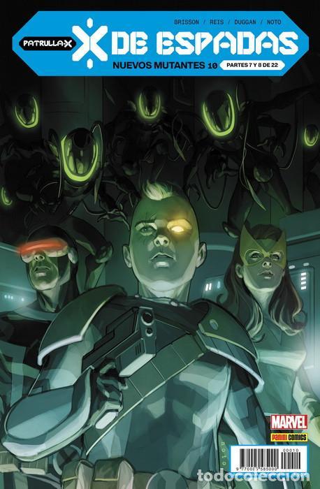 NUEVOS MUTANTES 10 (Tebeos y Comics - Panini - Marvel Comic)
