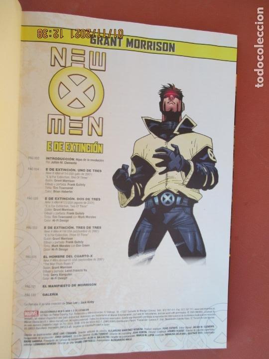 Cómics: NEW MEN - E DE EXTINCION -GRANT MORRISON MARVEL 1 DE 8 - PANINI COMICS - Foto 2 - 236455580