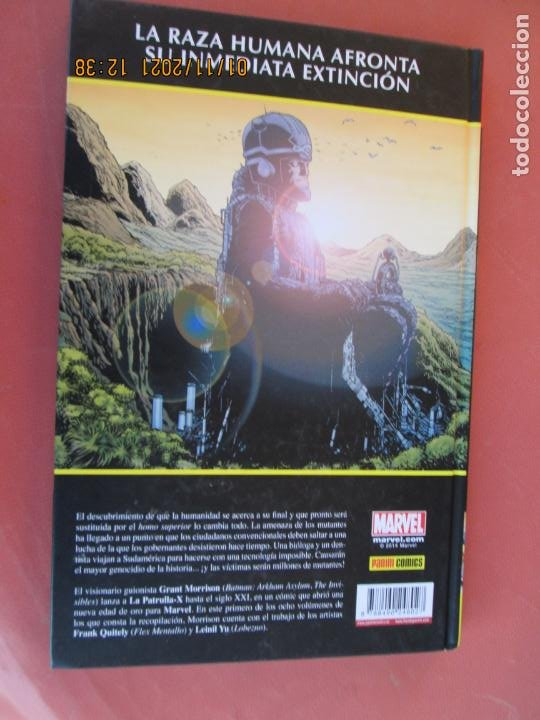 Cómics: NEW MEN - E DE EXTINCION -GRANT MORRISON MARVEL 1 DE 8 - PANINI COMICS - Foto 3 - 236455580