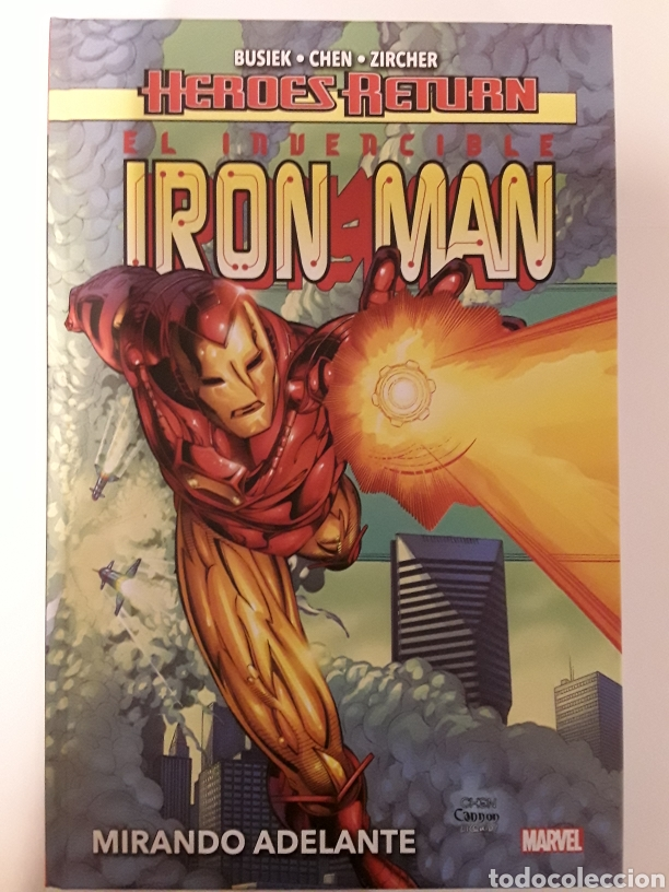 HEROES RETURN. EL INVENCIBLE IRON MAN. MIRANDO ADELANTE - PANINI / MARVEL (Tebeos y Comics - Panini - Marvel Comic)