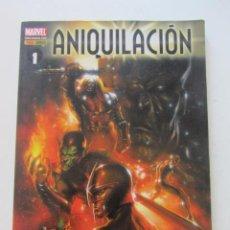 Cómics: ANIQUILACION TOMO 1 EL DIA DE LA GIFFEN ABNETT MARVEL PANINI MARVEL 2012 PANINI. Lote 236609865