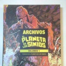 Comics: MLE ARCHIVOS DE EL PLANETA DE LOS SIMIOS 01: TERROR EN EL PLANETA DE LOS SIMIOS. S/D PANINI. Lote 236725260