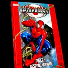 Cómics: DE KIOSCO COLECCIONABLE ULTIMATE 1 SPIDERMAN 1 COMICS PANINI MARVEL TAPA DURA. Lote 237295765