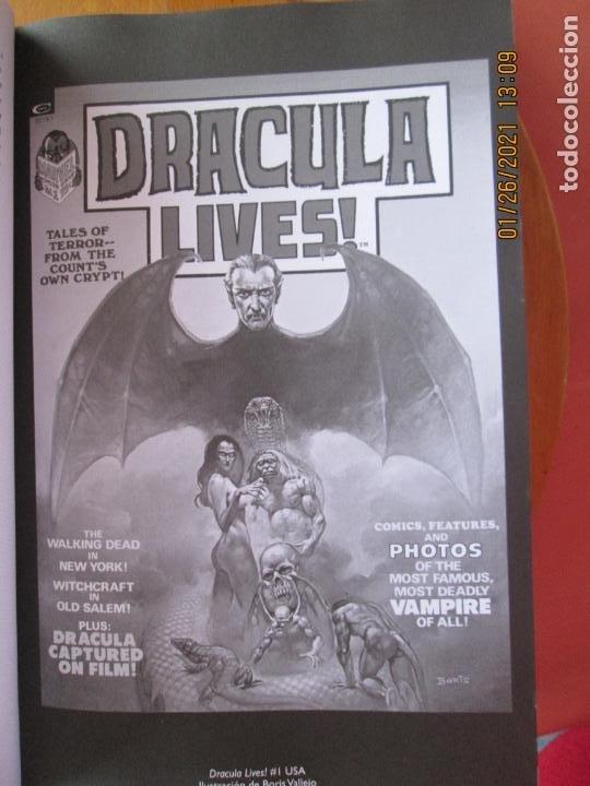Cómics: DRACULA LIVES ! MARVEL LIMITED EDITION Nº 0506 DE 1500 - Foto 3 - 237398830