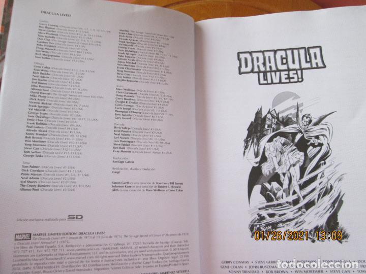 Cómics: DRACULA LIVES ! MARVEL LIMITED EDITION Nº 0506 DE 1500 - Foto 6 - 237398830