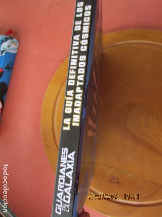 Cómics: GUARDIANES DE LA GALAXIA , LA GUIA DEFINITVA DE LOS INADAPTADOS COSMICOS - MARVEL - Foto 7 - 237403095