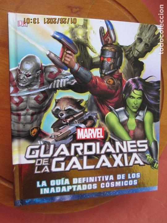 GUARDIANES DE LA GALAXIA , LA GUIA DEFINITVA DE LOS INADAPTADOS COSMICOS - MARVEL (Tebeos y Comics - Panini - Marvel Comic)