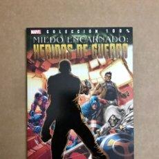 Cómics: MIEDO ENCARNADO: HERIDAS DE GUERRA - COLECCIÓN 100% MARVEL - PANINI COMICS - NUEVO. Lote 237458440