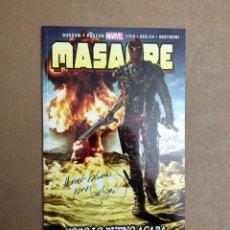 Cómics: MASACRE VOL. 4 NÚMERO 21 - TODO LO BUENO ACABA - FIRMADO POR SALVA ESPÍN - NUEVO. Lote 237460430