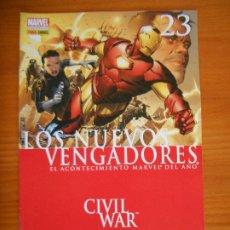 Comics: LOS NUEVOS VENGADORES Nº 23 - CIVIL WAR - MARVEL - PANINI (6O). Lote 237676335
