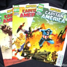 Cómics: IMPERIO NÚM. 01+02+03 (DE 3). CAPITAN AMERICA- COMPLETA-. Lote 238283370