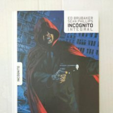 Cómics: INCÓGNITO, INTEGRAL, POR ED BRUBAKER Y SEAN PHILLIPS. Lote 238594385