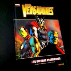 Cómics: EXCELENTE ESTADO LOS VENGADORES LAS GUERRAS ASGARDIANAS COMICS MARVEL DELUXE TOMO TAPA DURA. Lote 238777600