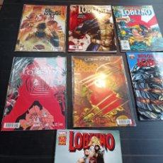 Cómics: MARVEL, LOBEZNO LOTE DE 7 COMICS, PRÁCTICAMENTE NUEVOS. Lote 238865780