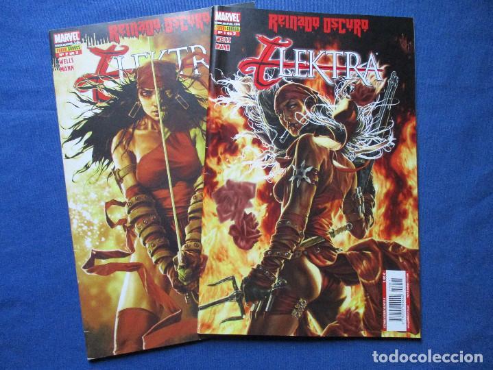 MARVEL / ELEKTRA / REINADO OSCURO / OBRA COMPLETA 2 NÚMEROS / PANINI (Tebeos y Comics - Panini - Marvel Comic)